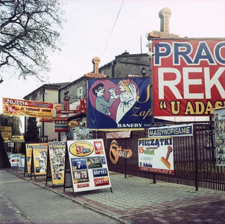 """Konrad Pustoła, """"U Adasia"""", 2003, fotografia, © Konrad Pustoła, fot. dzięki uprzejmości Centrum Sztuki Współczesnej Zamek Ujazdowski"""
