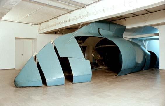 """Krzysztof M. Bednarski, """"Moby Dick"""", 1987, wł. Muzeum Sztuki w Łodzi (kolekcja stała)"""