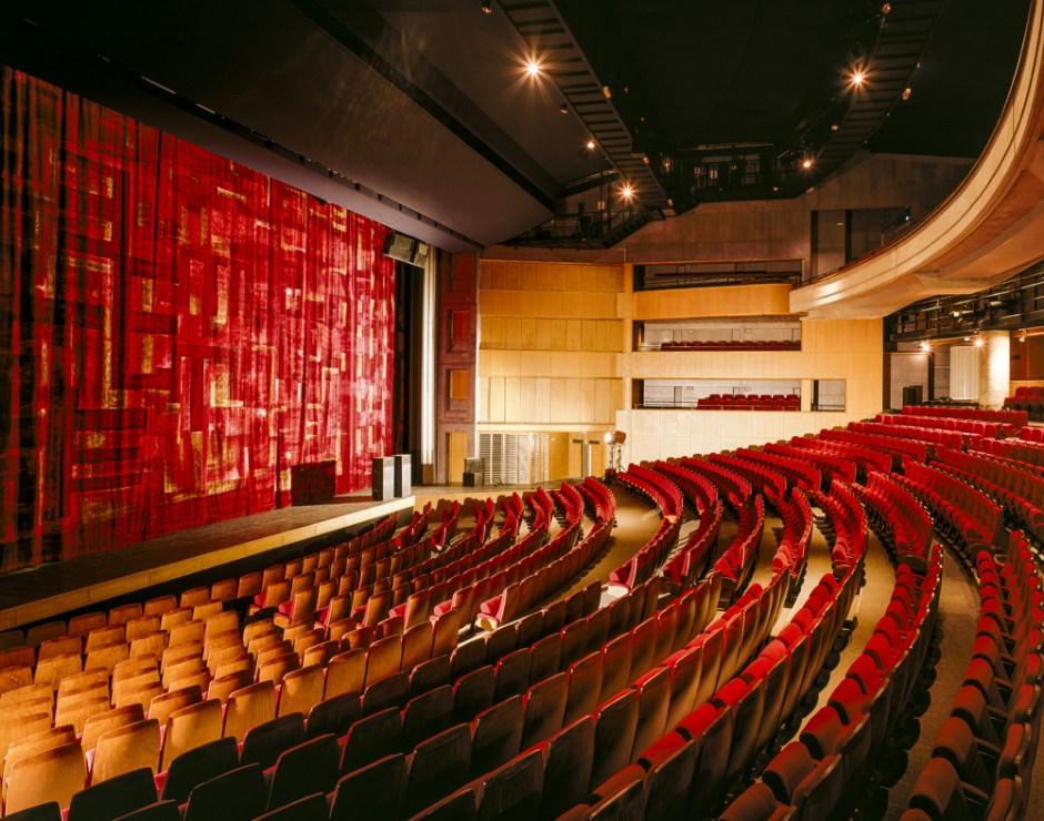 Projekt Stanisława Fiszera, Teatr i Mediateka, Saint-Quentin-en-Yvelines, 1993
