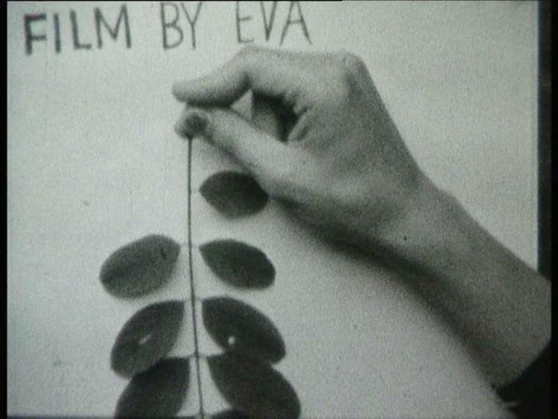 """Ewa Partum, """"Kino tautologiczne"""", 1974, fot. materiały prasowe WGW"""