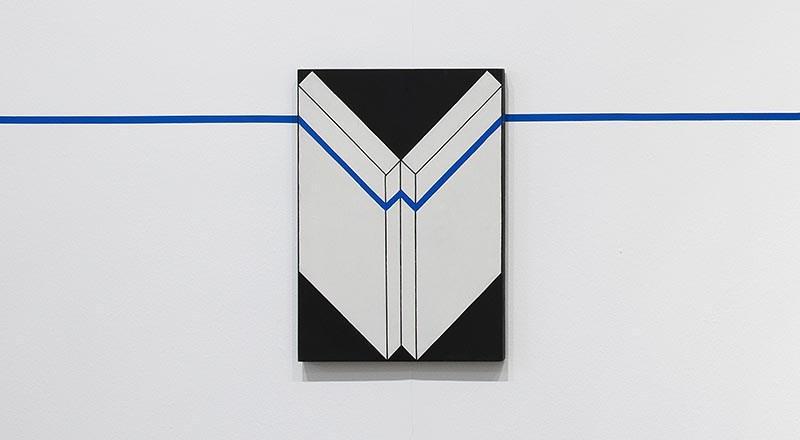 """Edward Krasiński, """"Intervention 15"""", 1975, fot. dzięki uprzejmości Fundacji Galerii Foksal"""