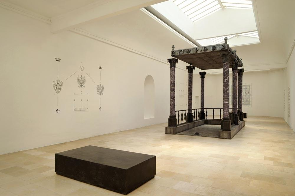 """""""Figury niemożliwe"""" w Pawilonie Polskim na 14. Biennale Architektury w Wenecji, fot. Wojciech Wilczyk"""