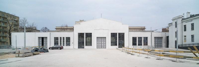 Międzynarodowe Centrum Kultury Nowy Teatr w budowie, fot. Jakub Certowicz