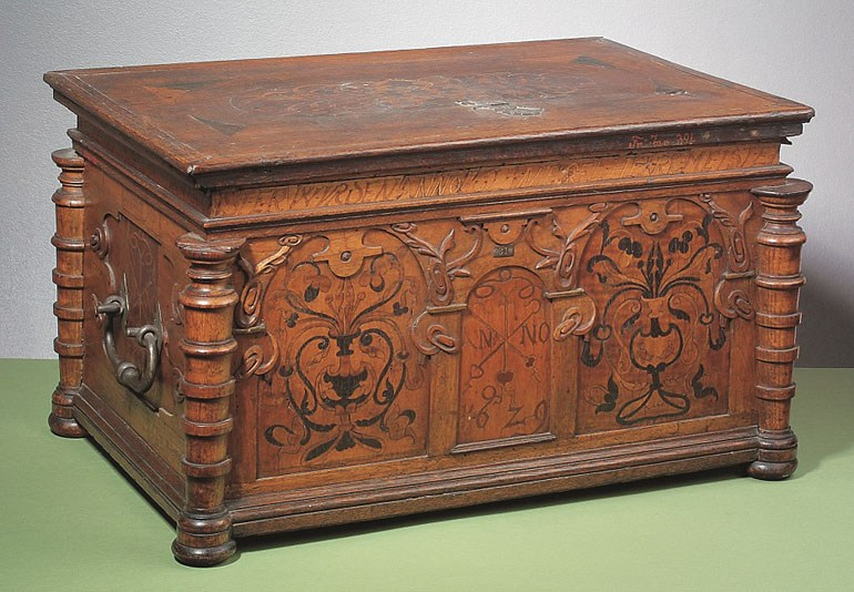 The Wrocław Rope Makers Guild's chest, 1629, photo: National Museum in Wrocław