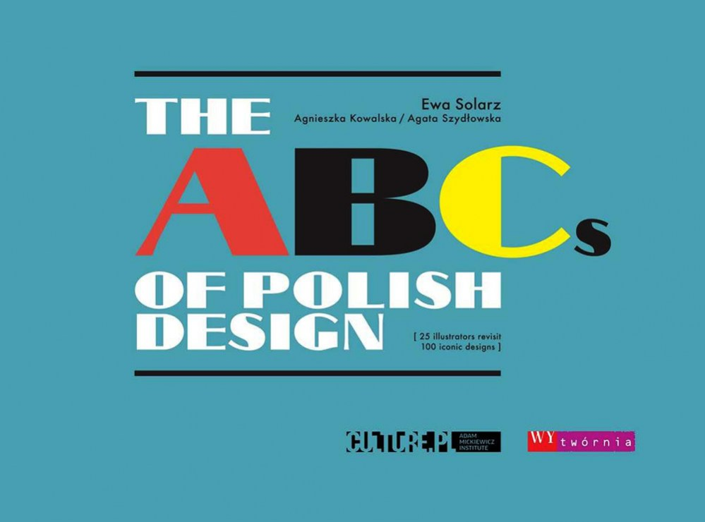 The ABCs of Polish Design, book cover, photo: press materials