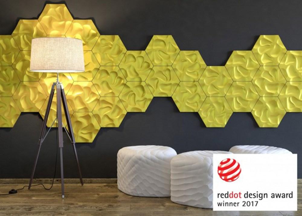 """Panele dekoracyjne """"ARSTYL"""", producent: NMC, projekt: Przemysław """"Mac"""" Stopa / Massive Design, fot. materiały prasowe producenta"""