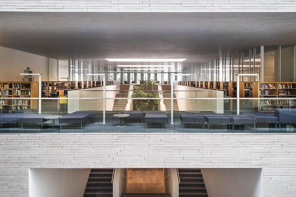 The Raczyński Library, Poznań, design: JEMS Architekci, photo:. Juliusz Sokołowski