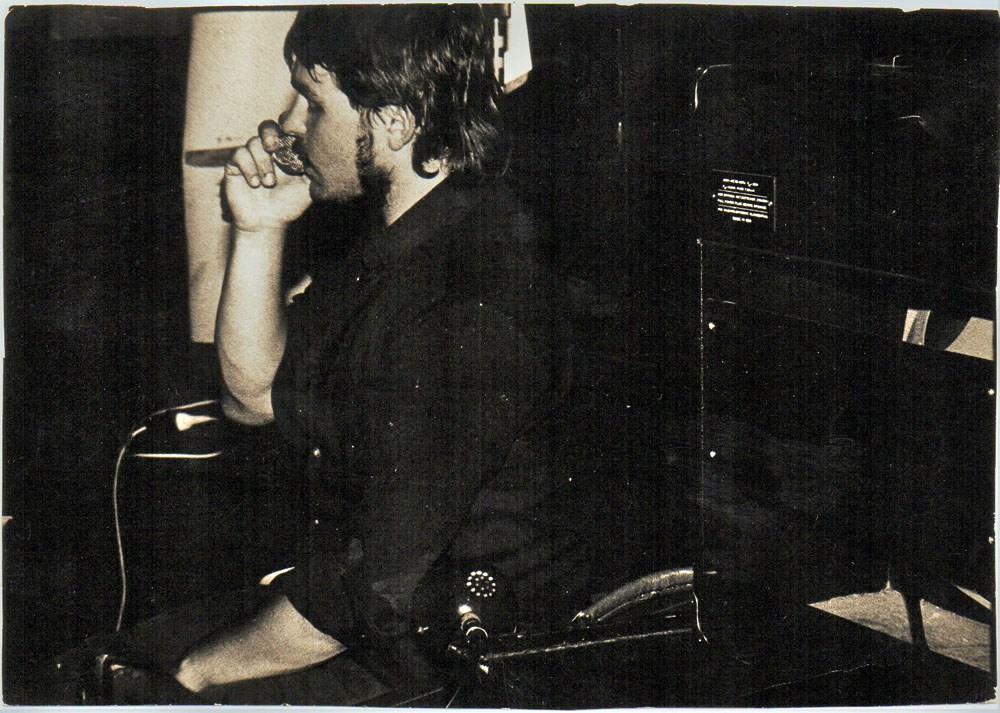 Bolesław Błaszczyk, koncert zespołu 997, Warszawa, Remont, 15.06.1989, fot. materiały artysty