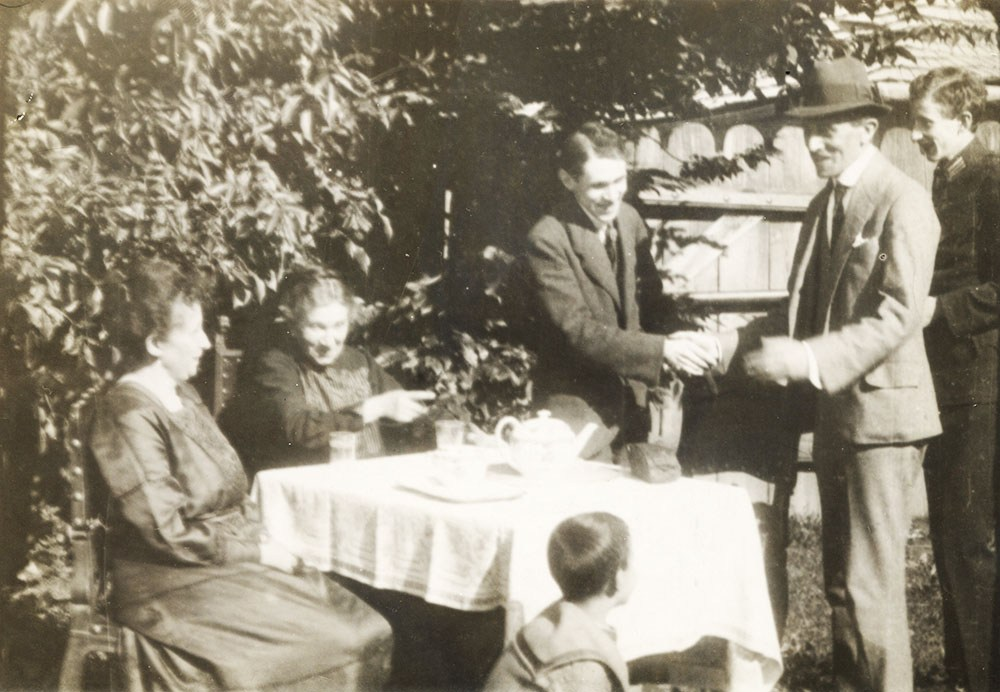 Bruno Schulz in Drohobych, after 1920, photo: the collection of the Museum of Literature in Warsaw / East News