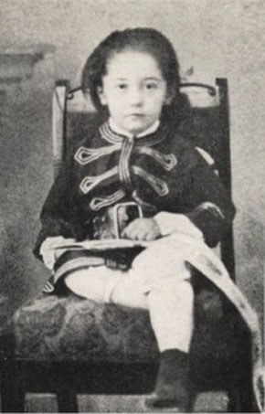 Joseph Conrad as a child, ca. 1863, photo: East News