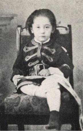 Джозеф Конрад в детстве, ок. 1863, фото: East News
