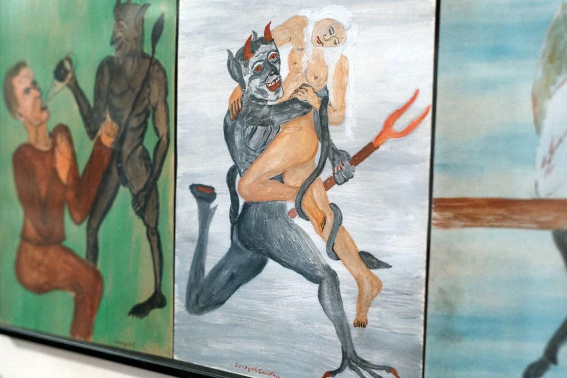 """Muzeum Diabła Polskiego """"Przedpiekle"""" w Warszawie, fot. Michał Dąbrowski, dzięki uprzejmości fotografa"""