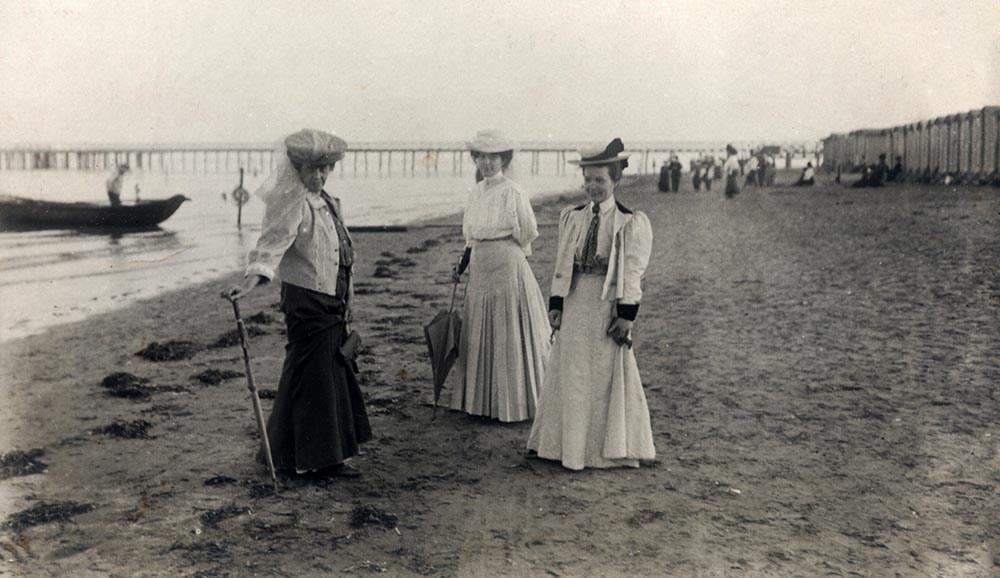 Gabriela Zapolska, Lido 1908, fot. Muzeum Literatury/East News