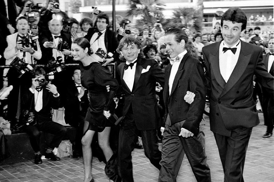 """Gala filmu Romana Polańskiego """"Piraci"""", Festiwal Filmowy w Cannes, 1990, fot. Jerzy Kośnik"""