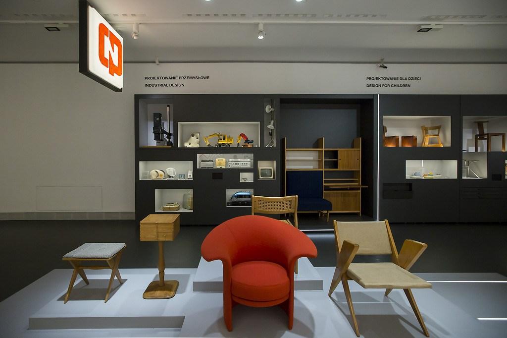 Galeria Wzornictwa Polskiego, widok z wystawy, fot. Bartosz Bajerski / Muzeum Narodowe w Warszawie