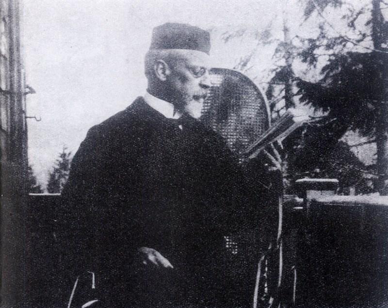 Henryk Sienkiewicz w Zakopanem, 1894, rep. Piotr Mecik / Forum