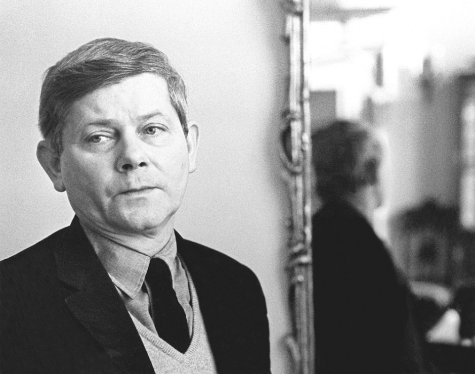 Zbigniew Herbert, Creative Work House of Polish Writers' Union,1972, photo: Erazm Ciołek / Forum