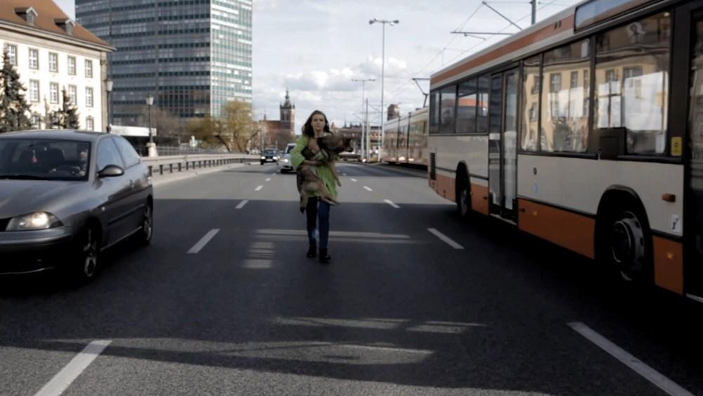 """Honorata Martin, kadr z filmu """"Honorata i Sasko"""", fot. Kamila Chomicz"""