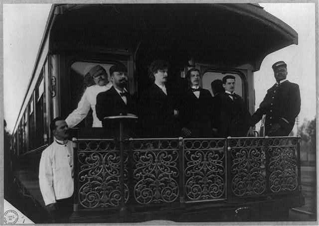Paderewski touring the US, Photo: Library of Congress