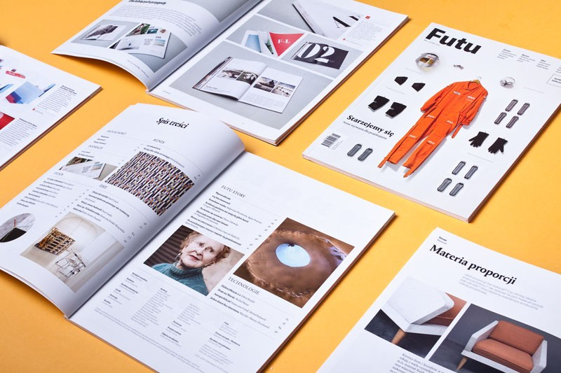 Futu Magazine, graphic design: Kuchar Swara, publisher: Wojciech Ponikowski, 2015