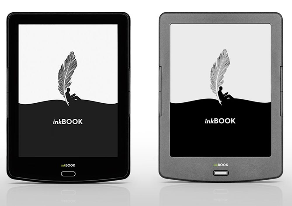 The inkBOOK e-reader produced by Arta Tech, design: Arta Tech, id group, photo: press materials