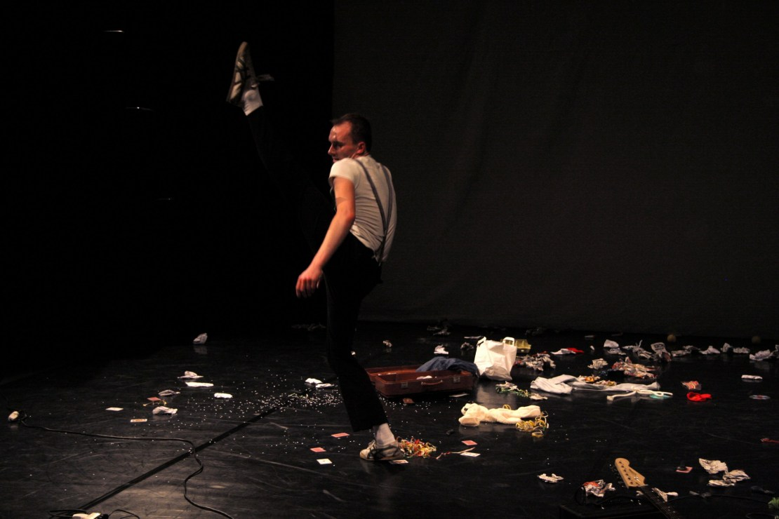 """Janusz Orlik w przedstawieniu """"Live on Stage"""", fot. Michał Łucza"""