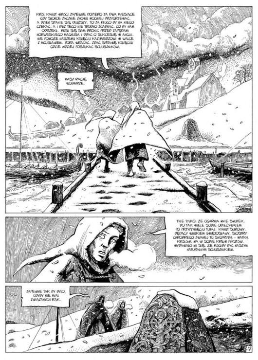 """""""Lux in tenebris #3: Jellinge"""", sc. Sławomir Zajączkowski, rys. Hubert Czajkowski"""