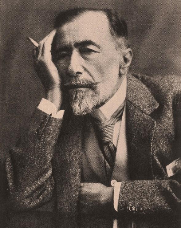 Joseph Conrad, 1920, fot. Represented by ZUMA Press/Forum