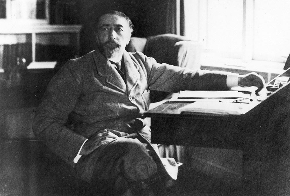 Joseph Conrad, photo: The Granger Collection/Forum