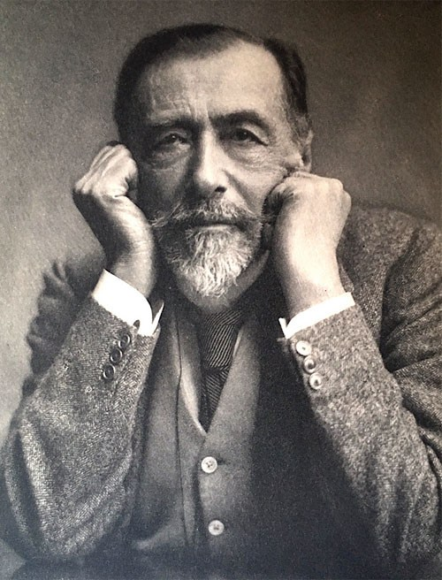 Joseph Conrad, photo: public domain