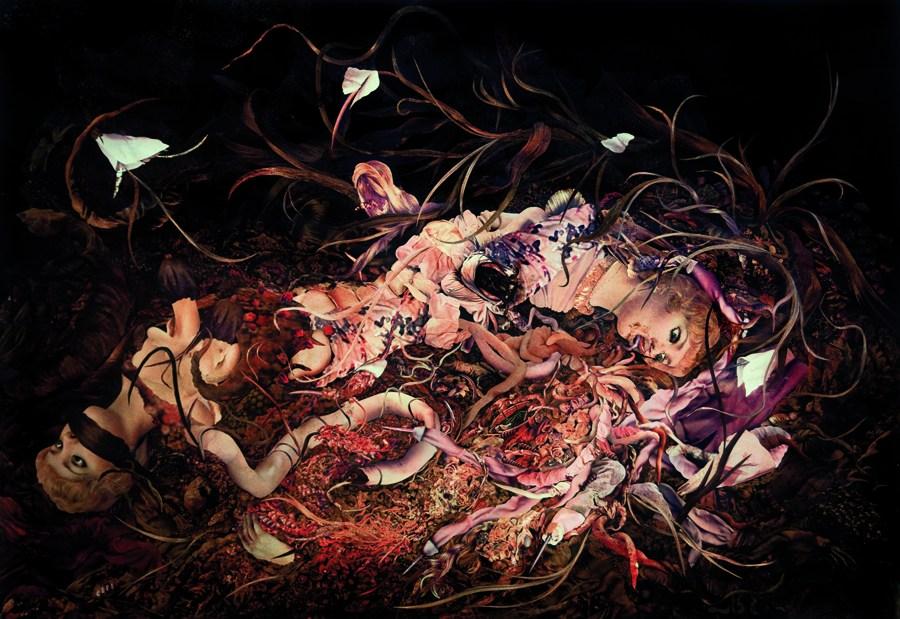 Konrad Maciejewicz, Untitled (Afrodit), collage, 2011, photo courtesy the artist