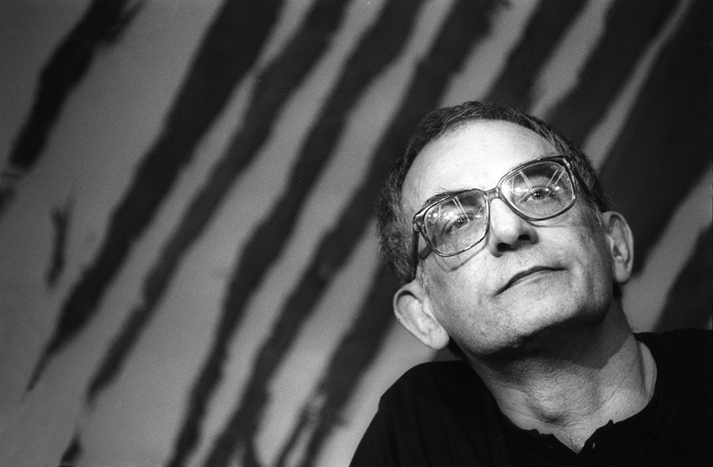 Krzysztof Kieślowski, Cannes, 1988, photo: Jerzy Kośnik