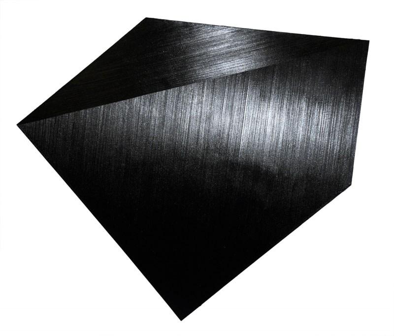 """Rafał Bujnowski, """"Lamp Black"""", 2008, olej na płótnie, 171 x 201 cm, fot. dzięki uprzejmości Galerii Raster"""