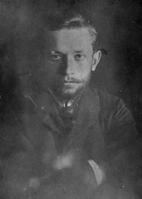 Leopold Staff około roku 1909, fot. East News