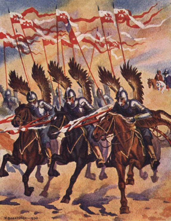 Lithuanian hussars, an illustration for Henryk Sienkiewicz's The Deluge, Wacław Boratyński, photo: public domain