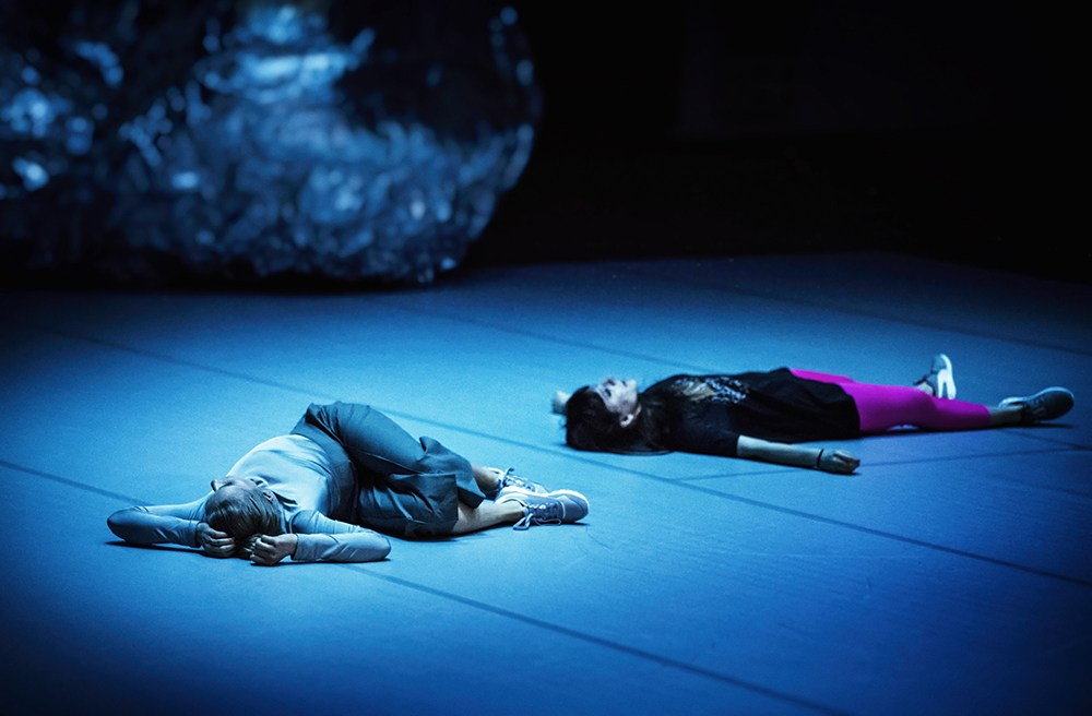 """Scena z przedstawienia """"2118. Anna Karasińska"""" w reżyserii Anna Karasińska, 2017, fot. Magda Hueckel/Nowy Teatr w Warszawie"""