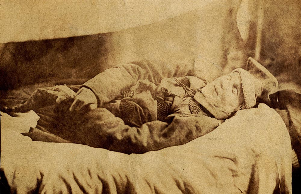 Adam Mickiewicz on his deathbed in Constantinople, 1855, unknown author; photo: the Museum of Literature / East News