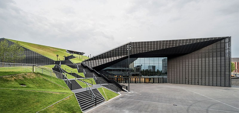 The International Conference Centre in Katowice, designed by Jems Architekci, photo: http://jems.pl