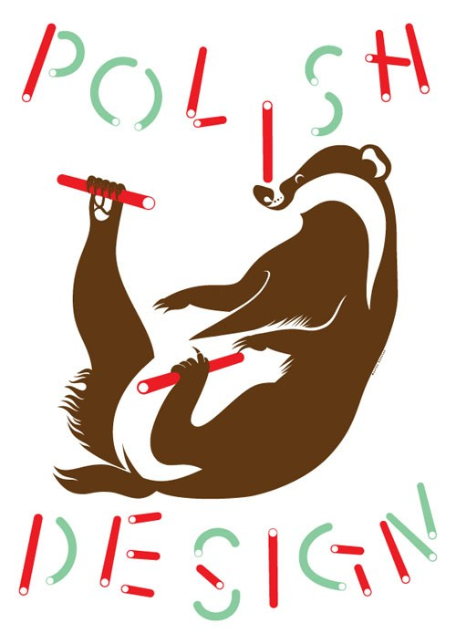 Polish Design Posters, graphic design by: Monika Hanulak, publisher: Culture.pl, 2015