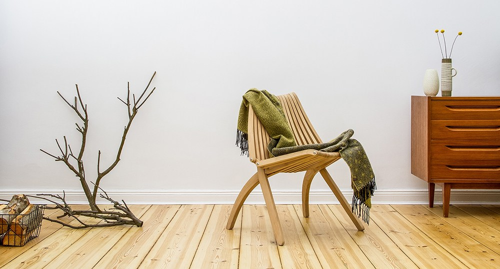 "Krzesło ""Lotos"", projektant: Romuald Ferens, producent: POLITURA, fot. materiały prasowe Łódź Design Festival"