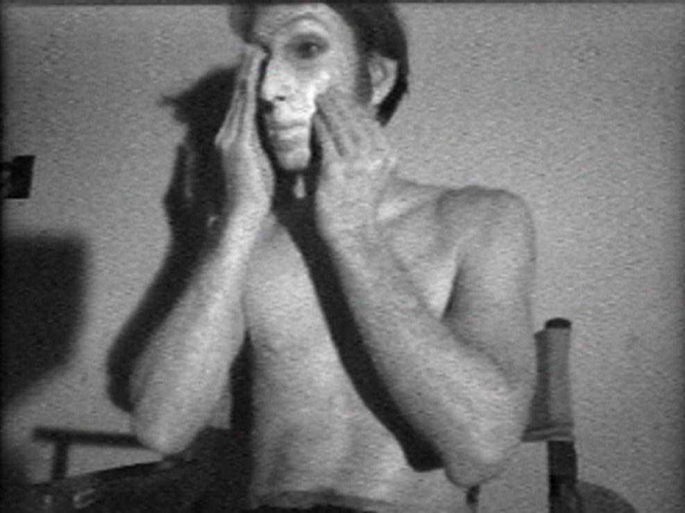 """Bruce Nauman, """"Flesh"""", fot. dzięki uprzejmość Fundacji Arton"""