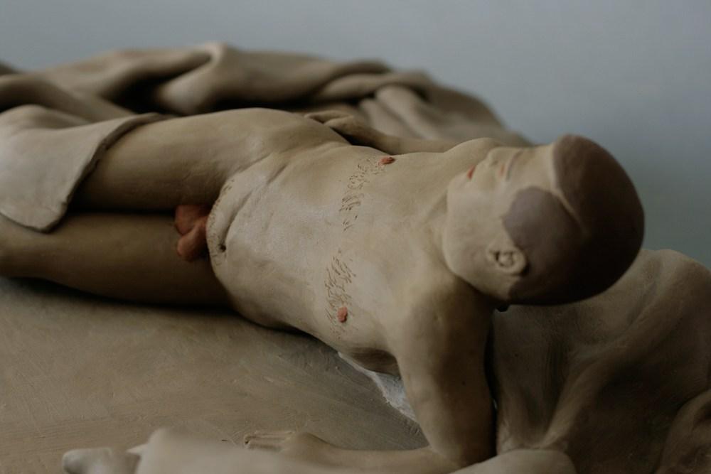 """Praca z wystawy """"Nazywam się Tomasz Kulka, mam 34 lata i chciałbym przespać całe życie"""", Tomasz Kulka, fot. dzięki uprzejmości artysty"""