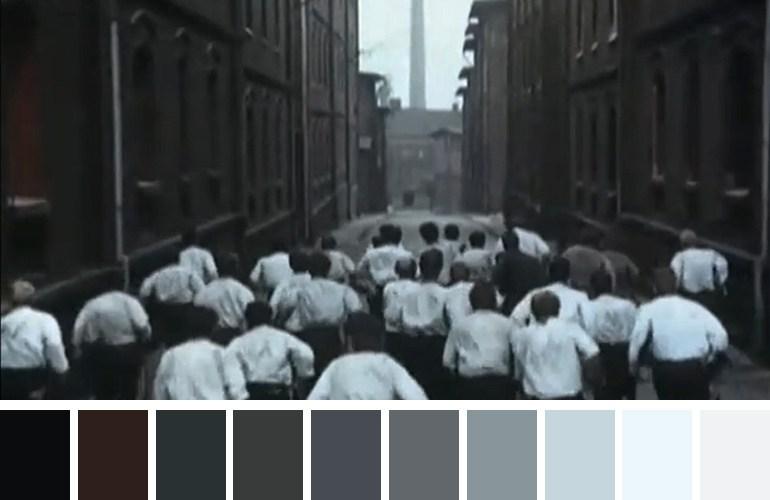 """Kadr z filmu """"Sól ziemi czarnej"""" Kazimierza Kutza"""