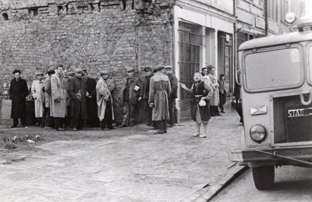Photo: Marek Piasecki, no title, 1959, courtesy of the Asymetria Gallery