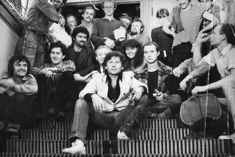 Roman Polański w 1981, fot. dzięki uprzejmości Szkoły Filmowej w Łodzi