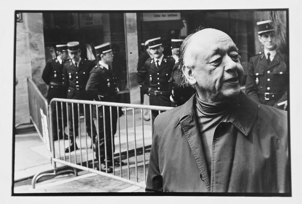 """Krzysztof Pruszkowski, """"Portret Ionesco"""", z serii """"Barierka"""", 1978, fot. dzięki uprzejmości galerii Raster"""