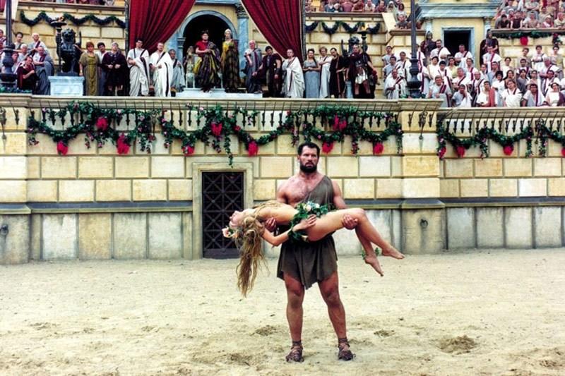 """Kadr z filmu """"Quo vadis"""" w reżyserii Jerzego Kawalerowicza, 2001, fot. materiały promocyjne dystrybutora"""