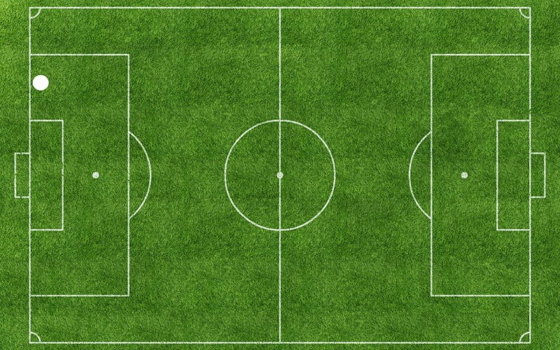 "Pep Vidal, ""Football Pitch 38"", 2016, fot. materiały prasowe WGW"