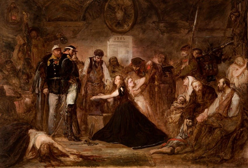 Jan Matejko, Polonia or 1863, photo: Wikimedia