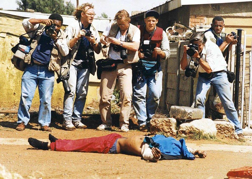 Йоханнесбург, ЮАР, 19.04.1994 год. Фото: Кшиштоф Миллер / Agencja Gazeta